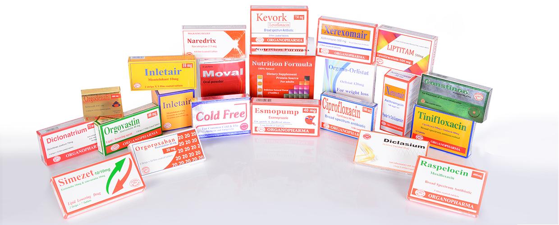 Organo Pharma Products